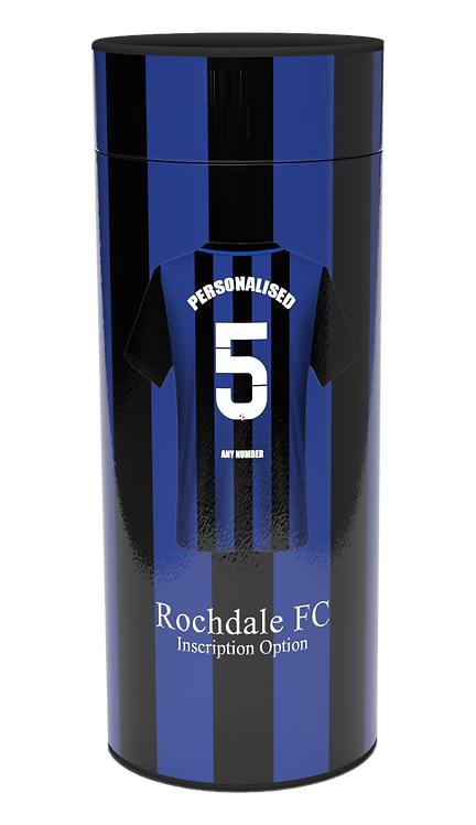 Custom Personalised Cremation Ashes Casket Urn FOOTBALL TEAM ROCHDALE