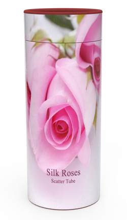 Ashes Scatter Tube SILK ROSE