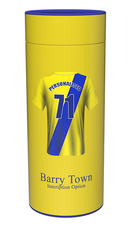 Custom Personalised Cremation Ashes Casket Urn FOOTBALL TEAM BARRY TOWN