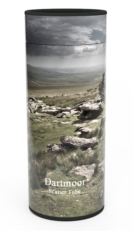 Custom Personalised Cremation Ashes Casket Urn Scenic Landscape DARTMOOR