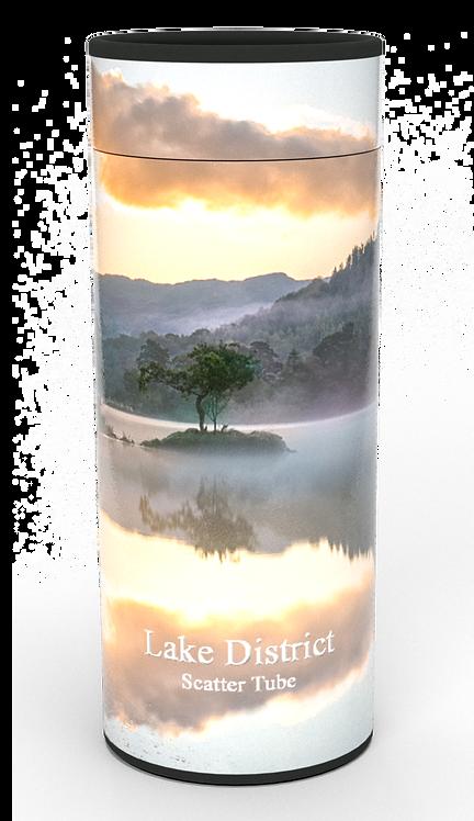 Custom Personalised Cremation Ashes Casket Urn Scenic Landscape LAKE DISTRICT