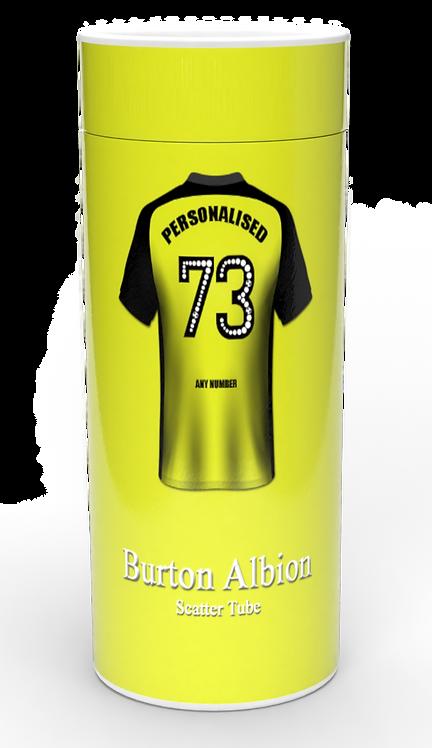 Personalised Custom Cremation Ashes Casket Urn BURTON ALBION