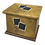 Thumbnail: Pet Ashes Casket LEATHER (BURNISHED)