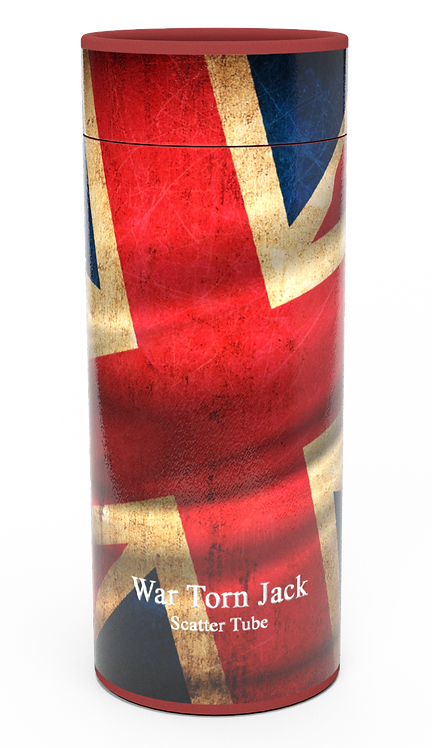Custom Personalised Cremation Ashes Casket Urn Military Armed Service Forces UNION JACK FLAG
