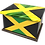 Personalised Custom JAMAICA FLAG Cremation Ashes Casket