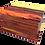 Personalised Custom BURMESE ROSEWOOD Effect Cremation Ashes Casket
