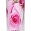 Personalised Custom Bespoke Ashes Scattering Tube Urn for Cremated Remains in Floral PINK ROSE BUD design
