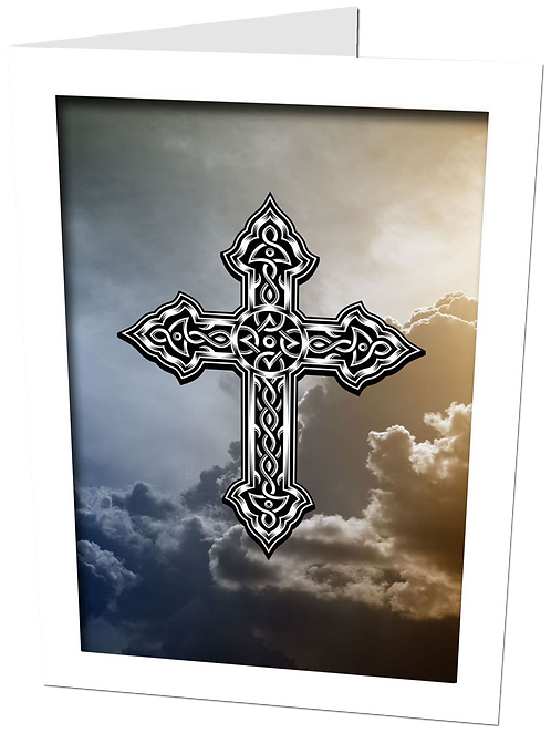 HEAVENLY CLOUDS with Cross