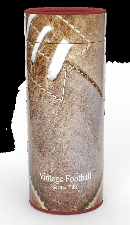 Custom Personalised Funeral Cremation Ashes Casket Urn Hobby Sport Interest VINTAGE FOOTBALL