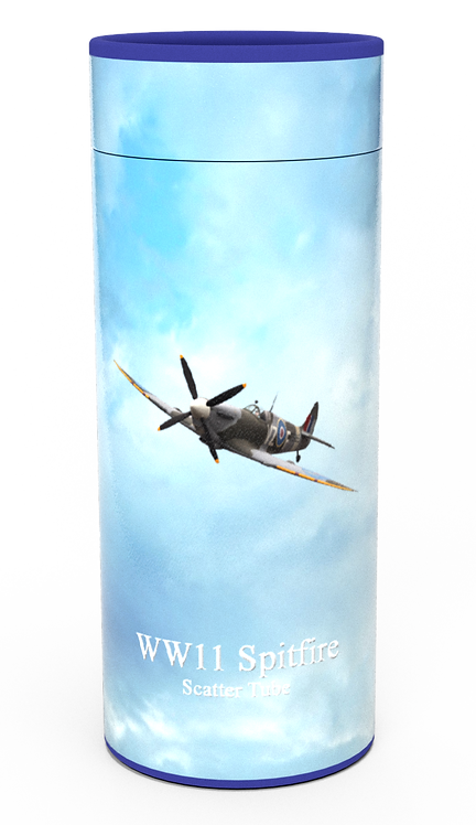 Custom Personalised Cremation Ashes Casket Urn Military Armed Service Forces SPITFIRE
