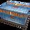 Custom Personalised Cremation Ashes Casket Urn BLUE JEANS DENIM