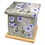 Custom Personalised Cremation Ashes Casket in FLORAL FLOWER GARDEN DAISIES design