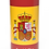 Personalised Custom Bespoke Ashes Scattering Tube Urn for Cremated Remains in four sizes SPAIN SPANISH FLAG