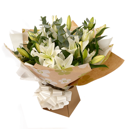 Floral Arrangements Sprays Bouquets White Lilies