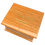 Personalised Custom OAK Wood Effect Cremation Ashes Casket