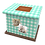 Custom Personalised PET Animal Cat Dog Ashes Casket Urn In Gingham Design