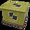 Thumbnail: Pet Ashes Casket LEATHER (PICKLE)