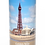 Custom Personalised Cremation Ashes Casket Urn Scenic Landscape THE GOLDEN MILE BLACKPOOL