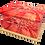 Custom Personalised Cremation Ashes Casket Urn RED GERBERA FLOWER