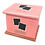 Thumbnail: Pet Ashes Casket LEATHER (CANDY)