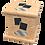 Thumbnail: Pet Ashes Casket MAPLE EFFECT