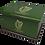 Custom Personalised Cremation Ashes Casket Urn  IRISH HARP