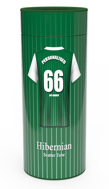 Personalised Custom Cremation Ashes Casket Urn HIBERNIAN SCOTLAND FOOTBALL HIBS THE HIBEES CLUB