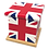 Personalised Custom Cremation Ashes Caskets COUNTRY AND BRITISH COUNTY FLAGS Union Jack