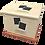Thumbnail: Pet Ashes Casket LEATHER (BUFF)