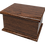 Ashes Casket in Solid Wood effect range of perPersonalised Custom MAHOGANY Effect Cremation Ashes Casket sonalised designs
