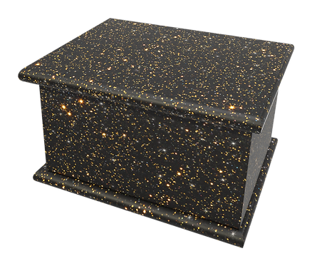 Cremation Burial Ashes Casket GLITTER SPARKLE BLING SHIMMER Custom Personalised