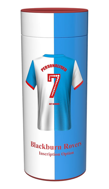Custom Personalised Cremation Ashes Casket Urn FOOTBALL TEAM BLACKBURN ROVERS