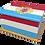 Custom Personalised Ashes Casket in a LUEMBURG FLAG design