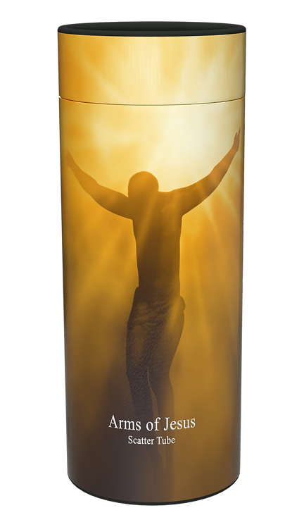 Custom Persomalised Cremation Ashes Casket Urn RELIGIOUS GOD JESUS FAITH HEAVEN