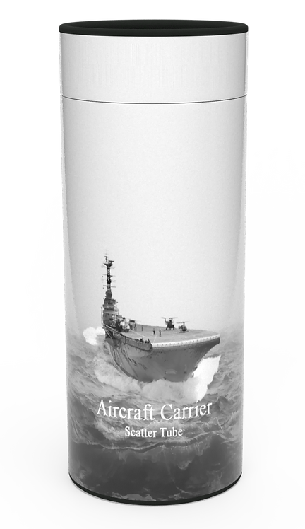 Custom Personalised Cremation Ashes Casket Urn Military Armed Service Forces AIRCRAFT CARRIER
