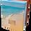 Custom Personalised Bespoke Cremation Ashes Casket BEACH SEASIDE