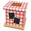 Thumbnail: Pet Ashes Casket GINGHAM RED