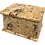 Personalised Custom LIGHT BURLWOOD Wood Effect Cremation Ashes Casket