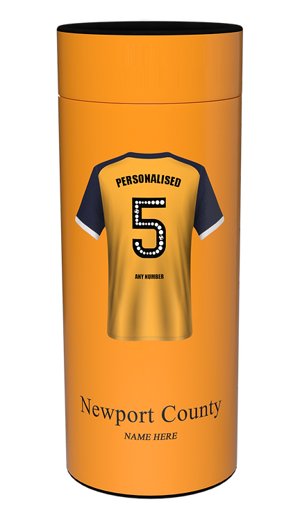 Custom Personalised Cremation Ashes Casket Urn Scatter Tube FOOTBALL NEWPORT COUNTY
