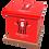 Custom Personalised Cremation Ashes Casket Urn FOOTBALL TEAM BARNSLEY FC