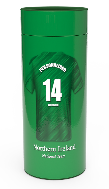 Personalised Custom Cremation Ashes Casket Urn NORTHERN IRELAND ULSTER FOOTBALL CLUB GREEN & WHITE ARMY NORN IRON