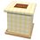 Thumbnail: Pet Ashes Casket GINGHAM LEMON