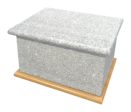 Personalised Custom GLITTER Cremation Ashes Casket, Urns and Keep-Sake