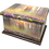 Personalised Custom FLORAL Cremation Ashes Casket and Keep-Sake Urns