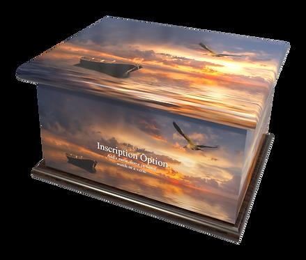 Custom Personalised Cremation Ashes Casket Urn RELIGIOUS FAITH CATHOLIC CHURCH HOLY JESUS