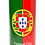 Personalised Custom Bespoke Ashes Scattering Tube Urn for Cremated Remains in Flag PORTUGAL design