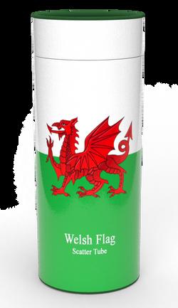 Scatter Tube WELSH FLAG 2