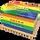 Personalised Custom PRIDE LGBQ FLAG Cremation Ashes Casket