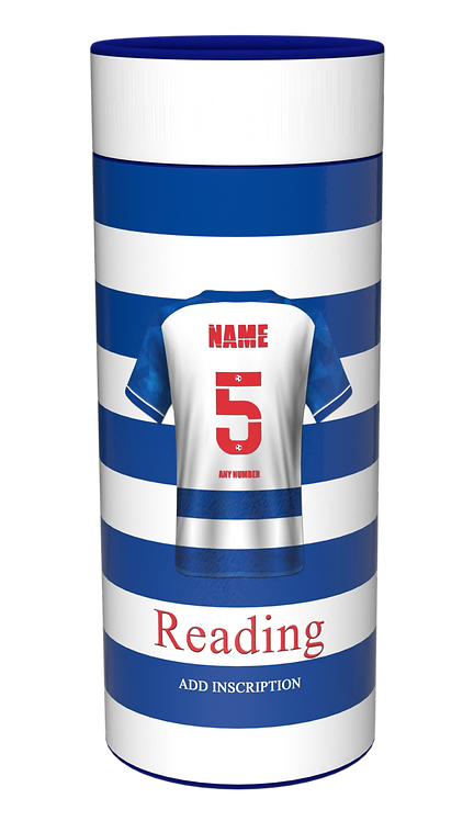 Custom Personalised Cremation Ashes Casket Scatter Tube FOOTBALL READING TOWN