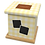Thumbnail: Pet Ashes Casket GINGHAM LEMON